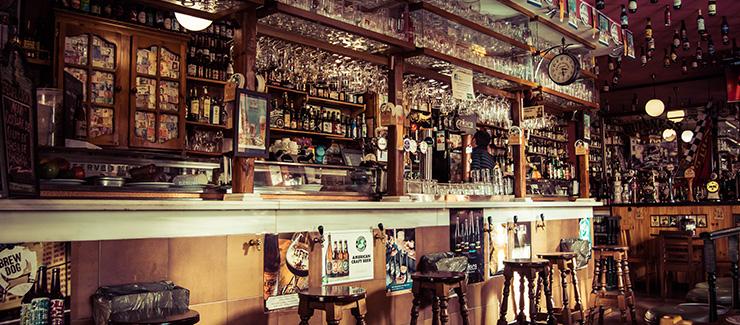 A bar in Madrid