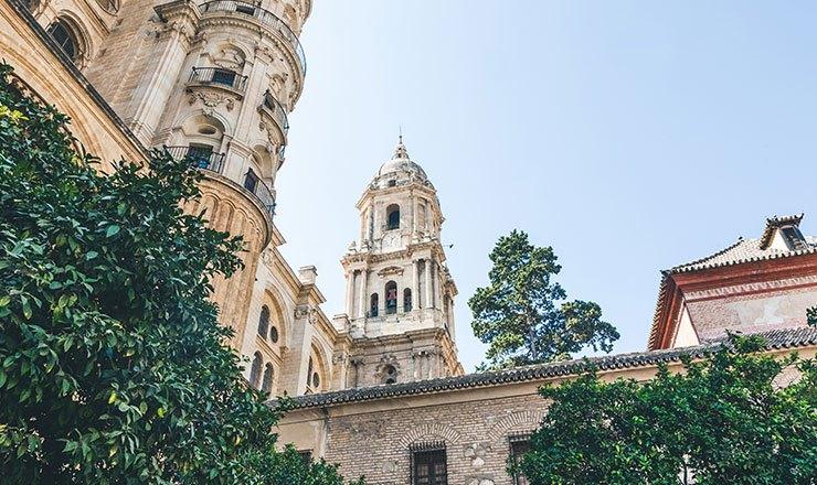 Malaga town centre