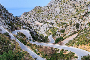 View hiking Sa Calobra, Mallorca