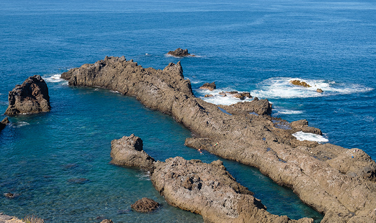 Charco del viento, natural pool in Tenerife
