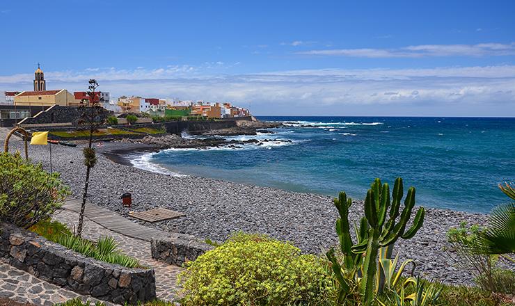 Charco del Cumplido beachfront